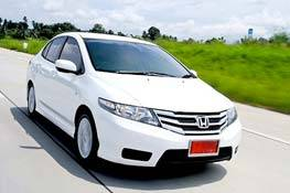 Honda city automatic available from Braun Phuket car hire