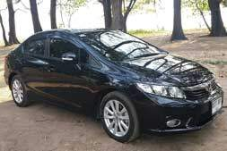 Honda civic automatic available from Braun Phuket car hire