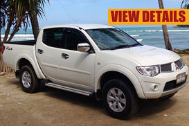 mitsubishi triton phuket rent car