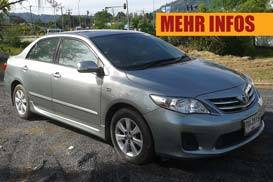 toyota altis phuket rent car