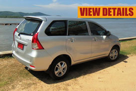 toyota avanza phuket rent car
