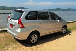 Toyota avanza automatic available from Braun Phuket car hire