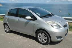 Toyota yaris automatic available from Braun Phuket car hire