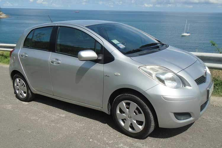 phuket car hire toyota yaris