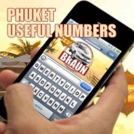 phuket useful numbers