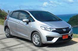 Honda Jazz automatic available from Braun Phuket car hire