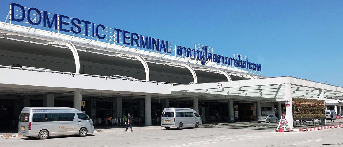 pick up point for your rental car at phuket international airport